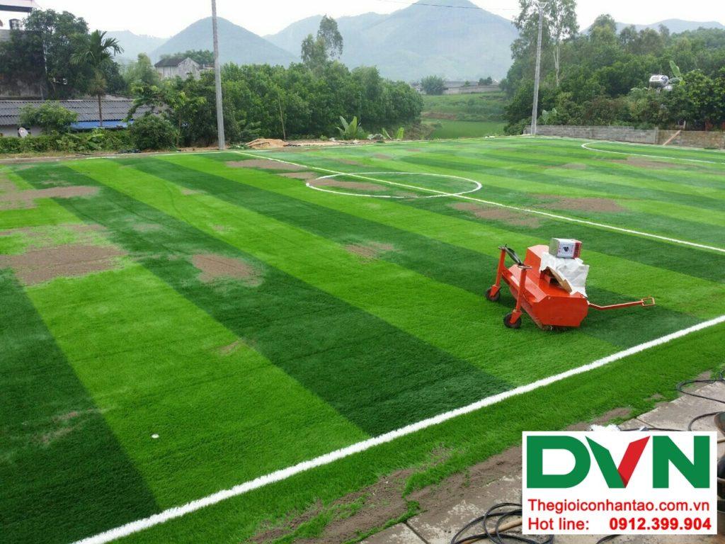 Một số hình ảnh của Dự án sân bóng cỏ nhân tạo tại Linh Sơn, Đồng Hỷ, Thái Nguyên 19