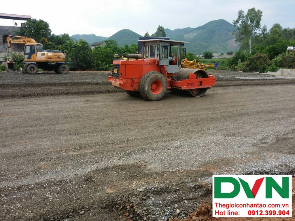 Một số hình ảnh của Dự án sân bóng cỏ nhân tạo tại Linh Sơn, Đồng Hỷ, Thái Nguyên 1