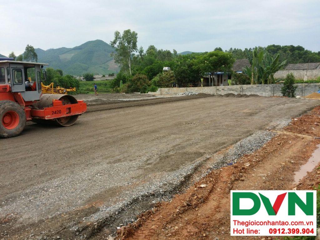 Một số hình ảnh của Dự án sân bóng cỏ nhân tạo tại Linh Sơn, Đồng Hỷ, Thái Nguyên 2
