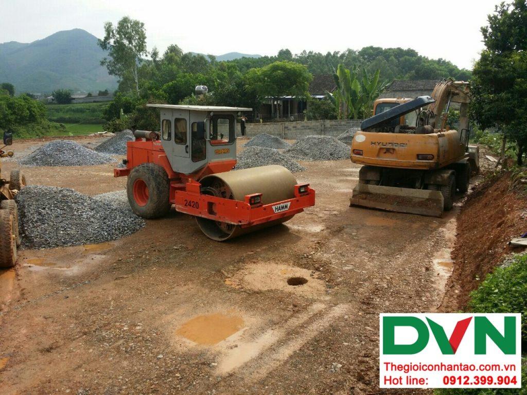 Một số hình ảnh của Dự án sân bóng cỏ nhân tạo tại Linh Sơn, Đồng Hỷ, Thái Nguyên 5