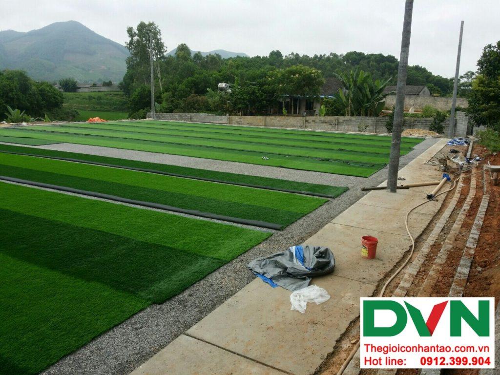 Một số hình ảnh của Dự án sân bóng cỏ nhân tạo tại Linh Sơn, Đồng Hỷ, Thái Nguyên 14