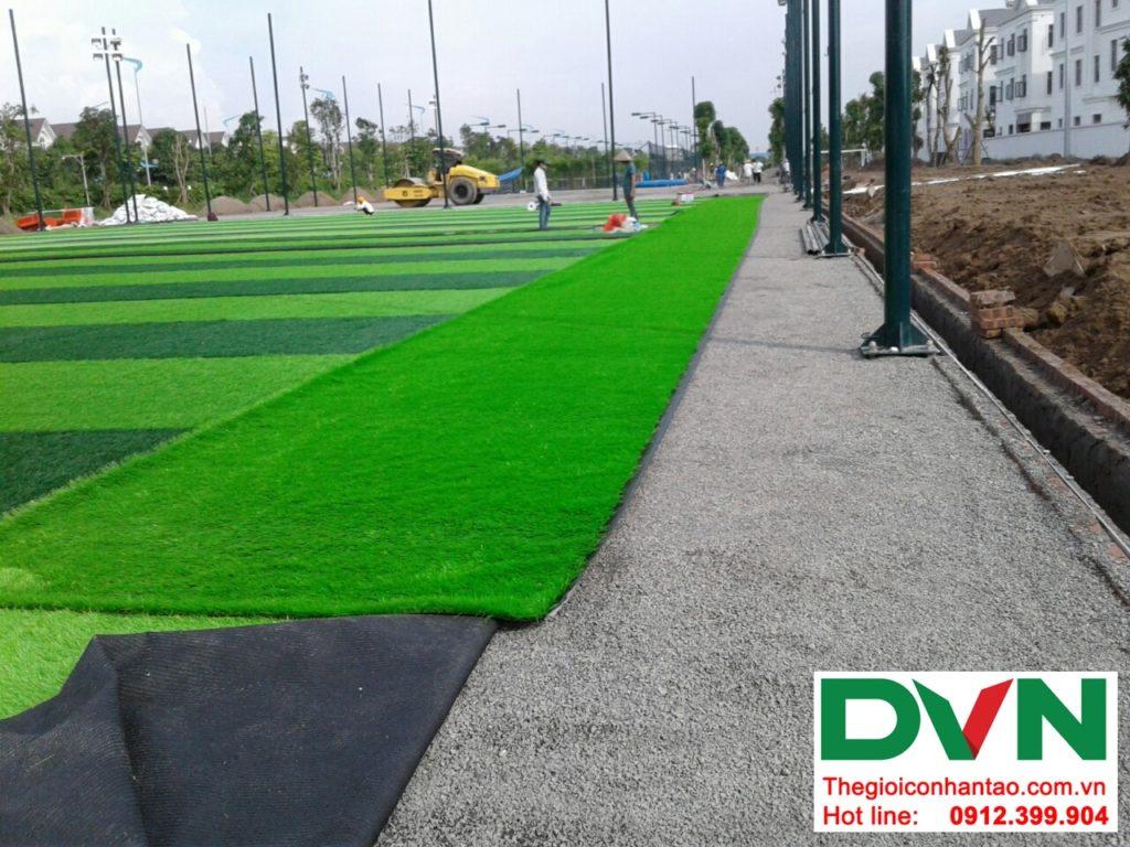 Một số hình ảnh của Dự án sân bóng cỏ nhân tạo tại Vinhome riverside, Long Biên, Hà Nội 1