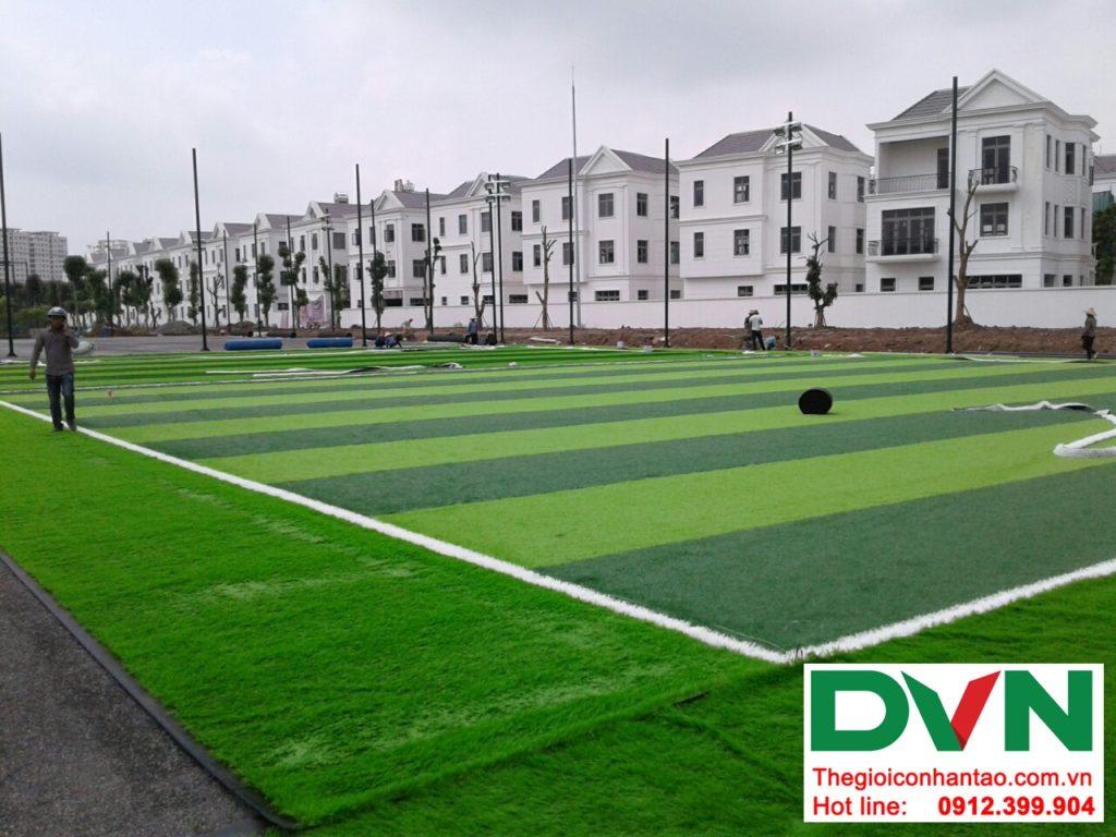 Một số hình ảnh của Dự án sân bóng cỏ nhân tạo tại Vinhome riverside, Long Biên, Hà Nội 10
