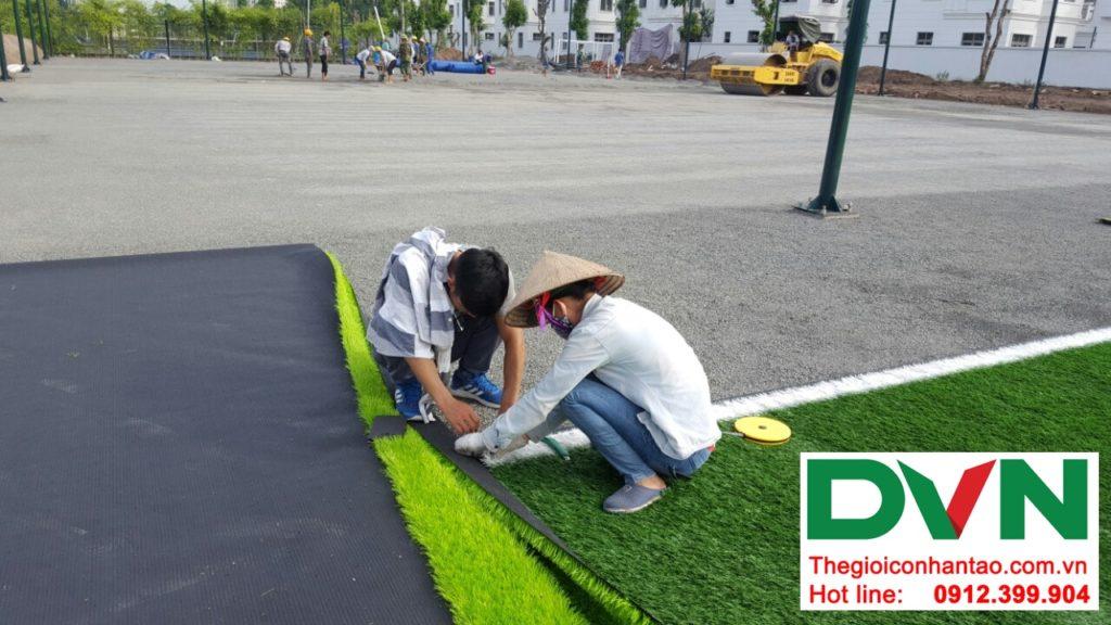 Một số hình ảnh của Dự án sân bóng cỏ nhân tạo tại Vinhome riverside, Long Biên, Hà Nội 7