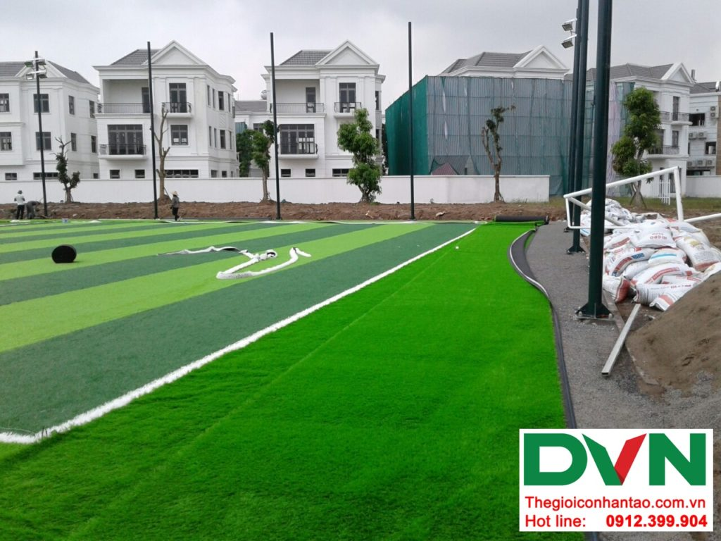 Một số hình ảnh của Dự án sân bóng cỏ nhân tạo tại Vinhome riverside, Long Biên, Hà Nội 9