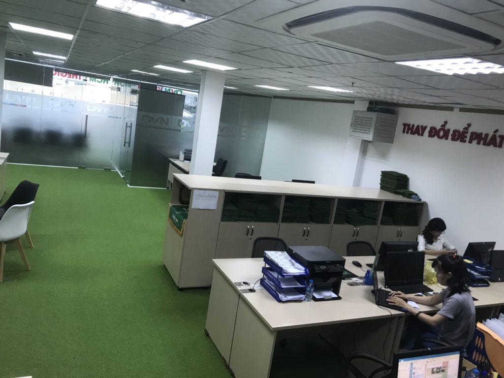 Một số hình ảnh của dự án trải văn phòng Chi nhánhHồ Chí Minh- Công ty TNHH DVN Việt Nam 5