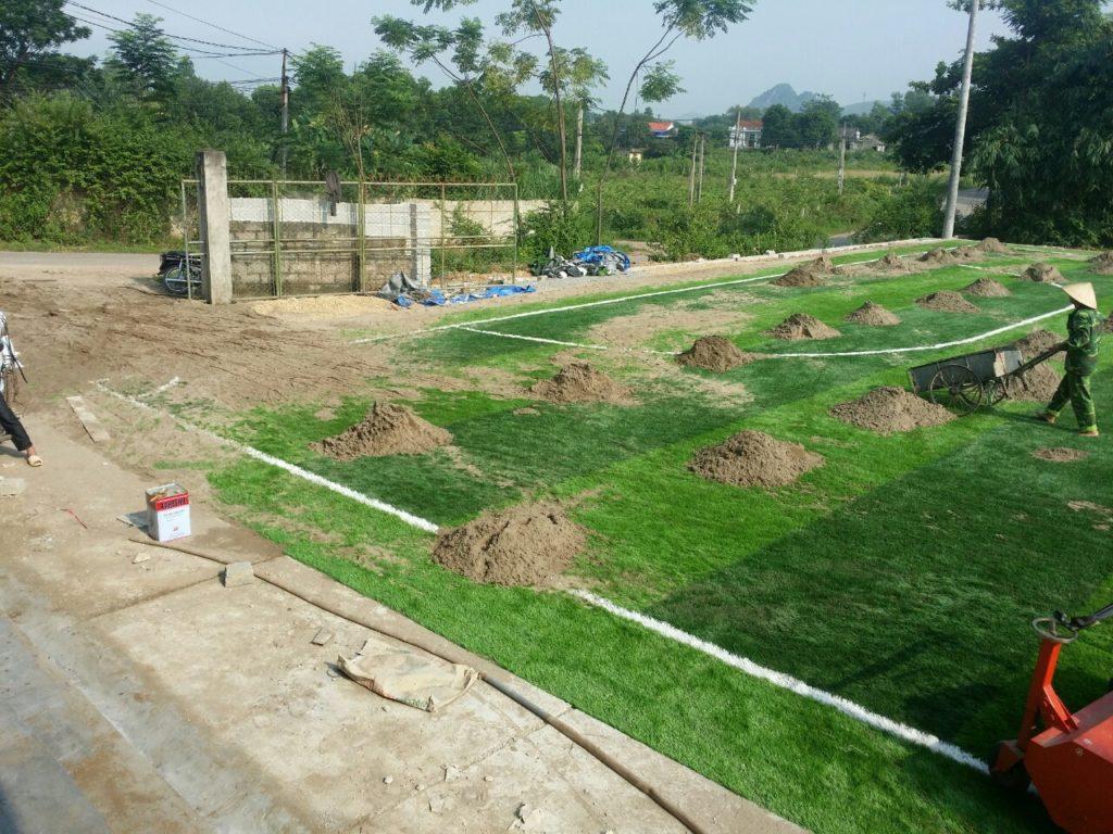Một số hình ảnh của Dự án sân bóng cỏ nhân tạo tại Linh Sơn, Đồng Hỷ, Thái Nguyên 21