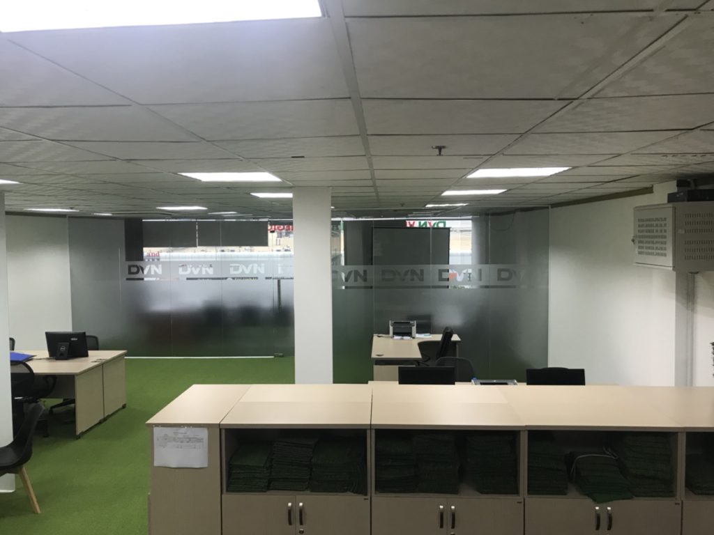 Một số hình ảnh của dự án trải văn phòng Chi nhánhHồ Chí Minh- Công ty TNHH DVN Việt Nam 6