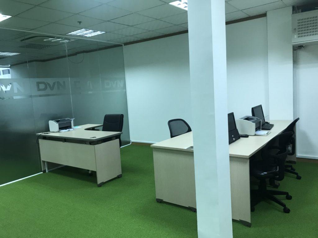 Một số hình ảnh của dự án trải văn phòng Chi nhánhHồ Chí Minh- Công ty TNHH DVN Việt Nam 7