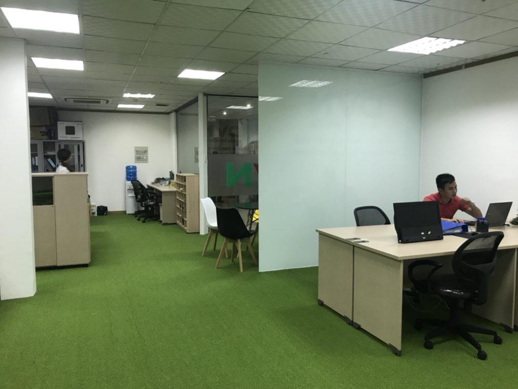Một số hình ảnh của dự án trải văn phòng Chi nhánhHồ Chí Minh- Công ty TNHH DVN Việt Nam 8