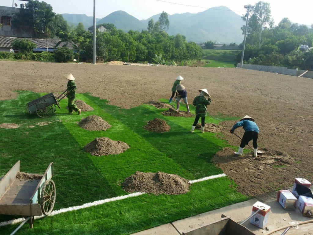 Một số hình ảnh của Dự án sân bóng cỏ nhân tạo tại Linh Sơn, Đồng Hỷ, Thái Nguyên 22