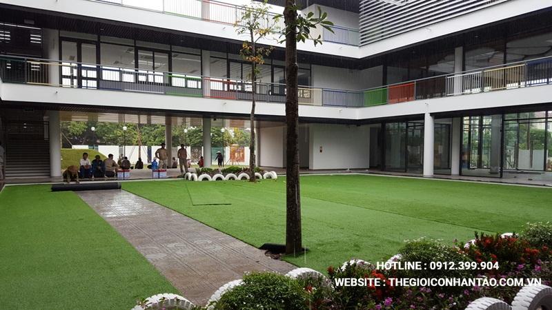 Ứng dụng của thảm cỏ nhựa 1
