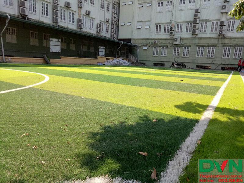 Hãy cùng tham khảo một số hình ảnh thi công dự án tại Trường Nguyễn Bỉnh Khiêm, Cầu Giấy, HN nhé! 3