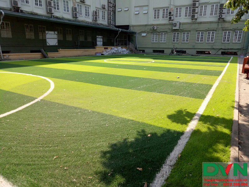 Hãy cùng tham khảo một số hình ảnh thi công dự án tại Trường Nguyễn Bỉnh Khiêm, Cầu Giấy, HN nhé! 4