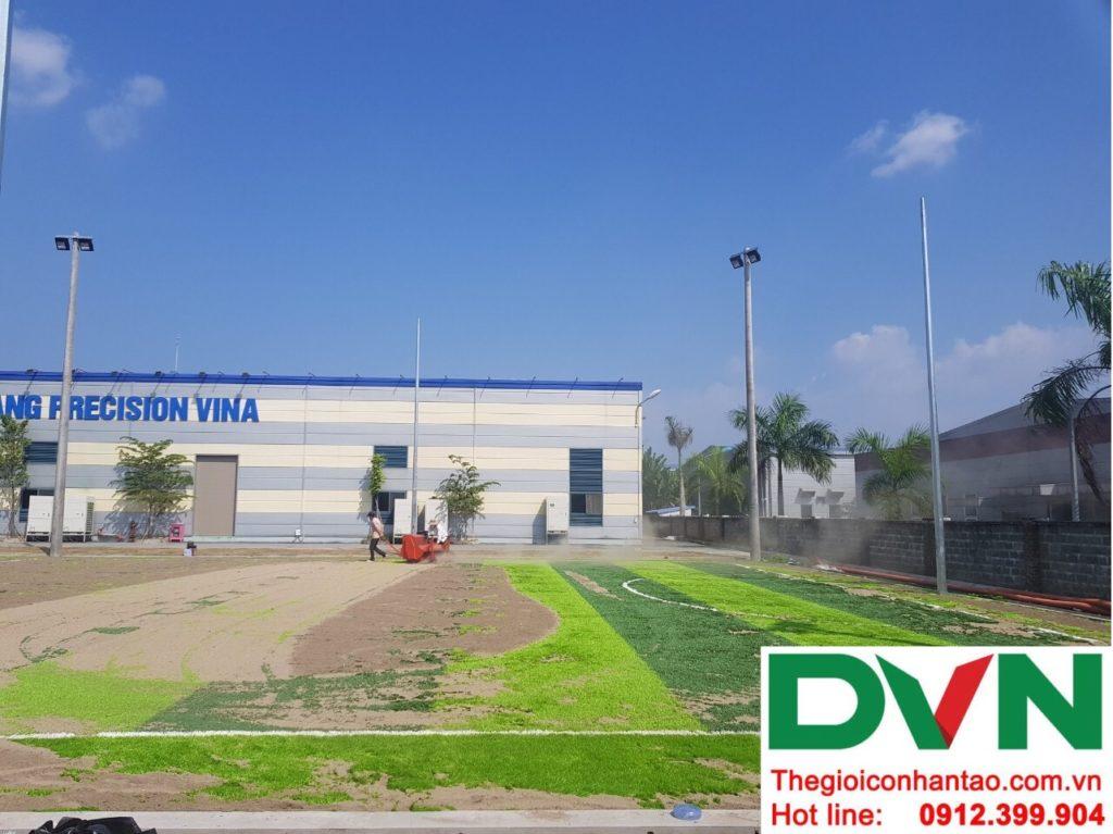 Một số hình ảnh của dự án sân bóng cỏ nhân tạo tạiCông Ty TNHH PRIME CONSTRUCTION, Thái Nguyên 7