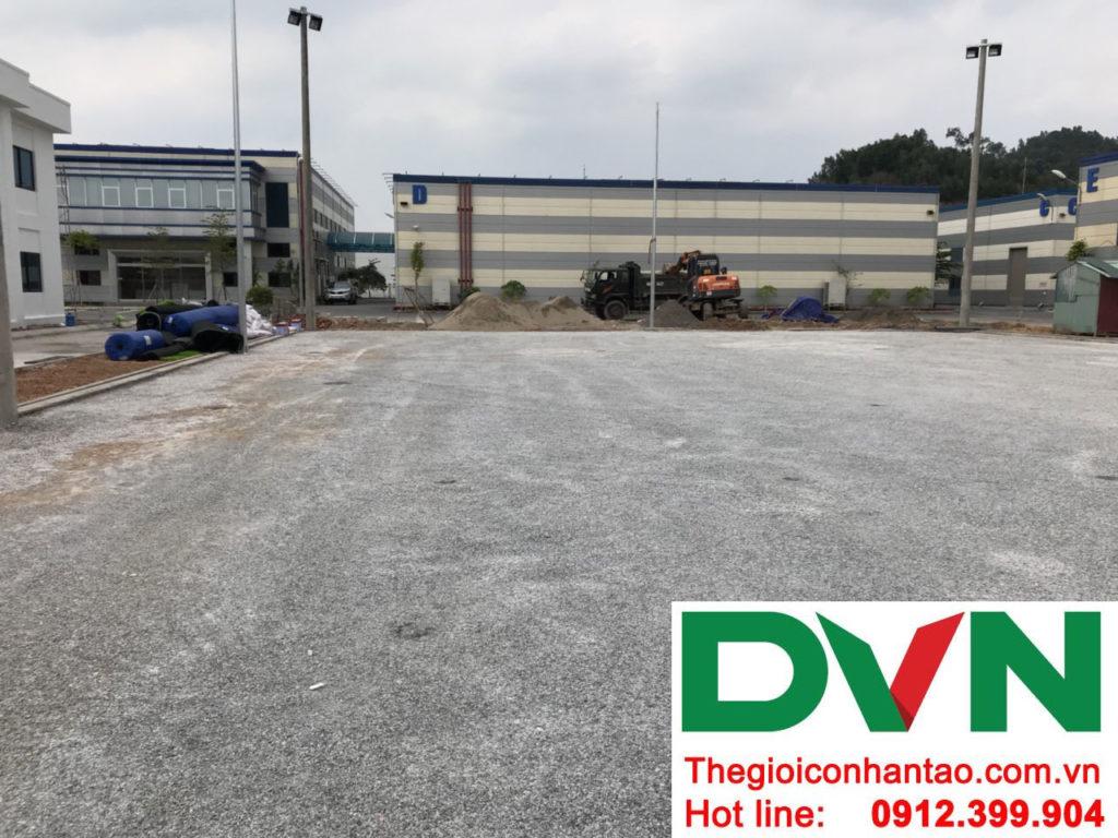 Một số hình ảnh của dự án sân bóng cỏ nhân tạo tạiCông Ty TNHH PRIME CONSTRUCTION, Thái Nguyên 4