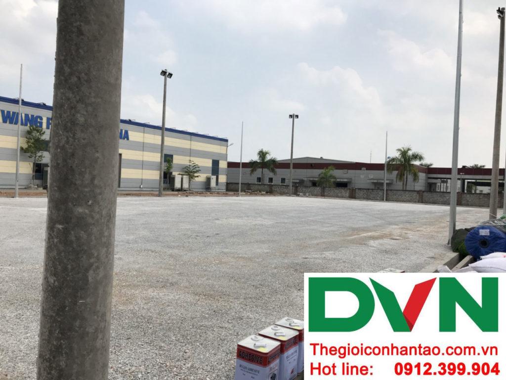 Một số hình ảnh của dự án sân bóng cỏ nhân tạo tạiCông Ty TNHH PRIME CONSTRUCTION, Thái Nguyên 5