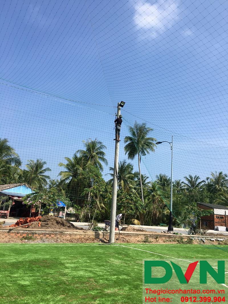 Một số hình ảnh dự án sân bóng tại Phước Mỹ Trung - Huyện Mỏ Cày Bắc - Bến Tre 3
