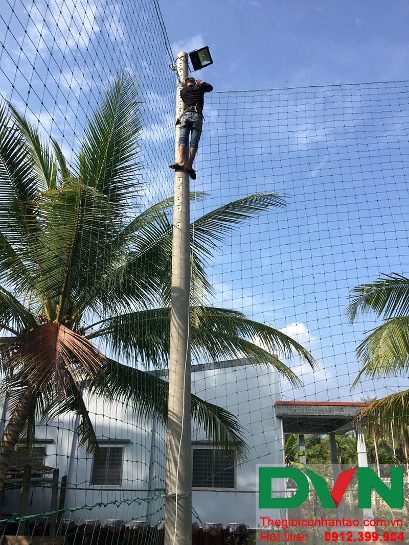 Một số hình ảnh dự án sân bóng tại Phước Mỹ Trung - Huyện Mỏ Cày Bắc - Bến Tre 4