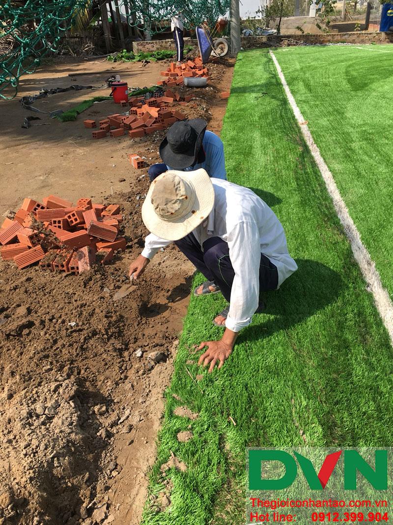 Một số hình ảnh dự án sân bóng tại Phước Mỹ Trung - Huyện Mỏ Cày Bắc - Bến Tre 5