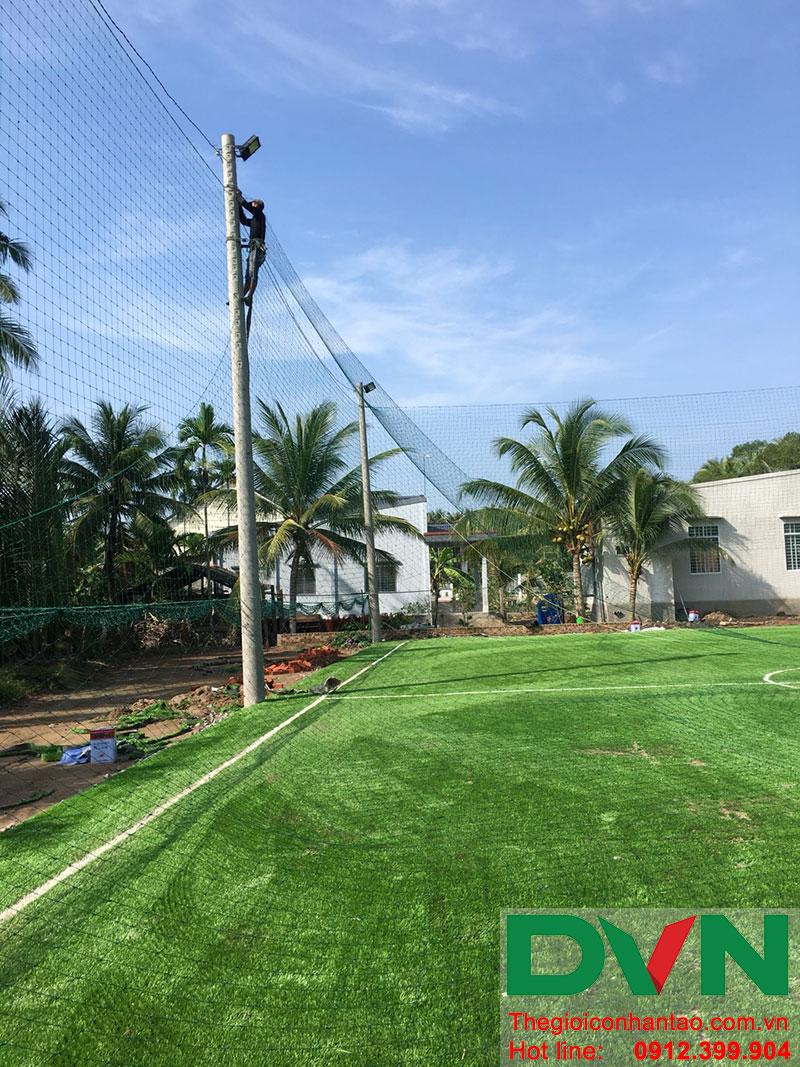 Một số hình ảnh dự án sân bóng tại Phước Mỹ Trung - Huyện Mỏ Cày Bắc - Bến Tre 6