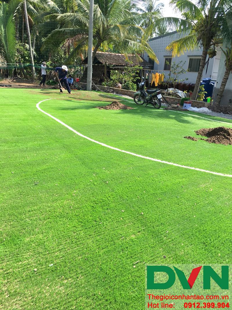 Một số hình ảnh dự án sân bóng tại Phước Mỹ Trung - Huyện Mỏ Cày Bắc - Bến Tre 7