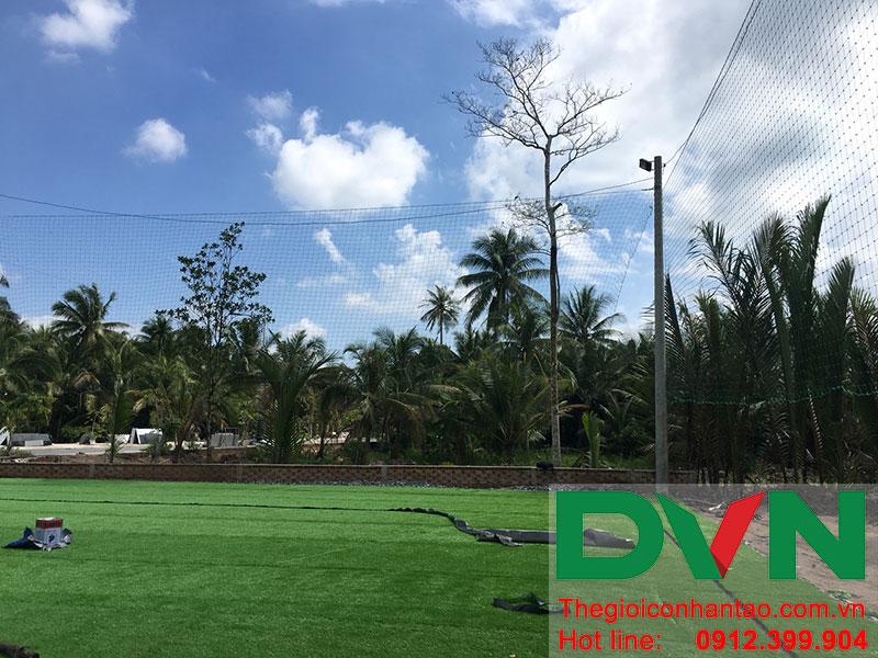 Một số hình ảnh dự án sân bóng tại Phước Mỹ Trung - Huyện Mỏ Cày Bắc - Bến Tre 8