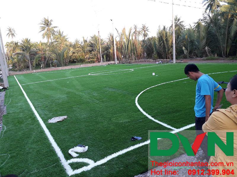 Một số hình ảnh dự án sân bóng tại Phước Mỹ Trung - Huyện Mỏ Cày Bắc - Bến Tre 9