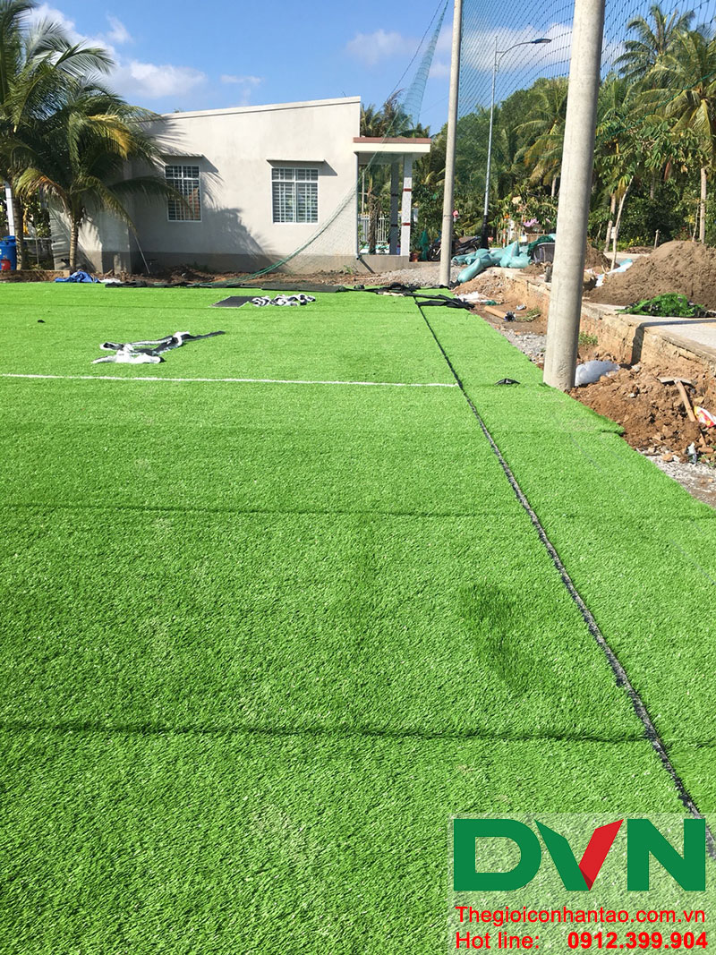 Một số hình ảnh dự án sân bóng tại Phước Mỹ Trung - Huyện Mỏ Cày Bắc - Bến Tre 11