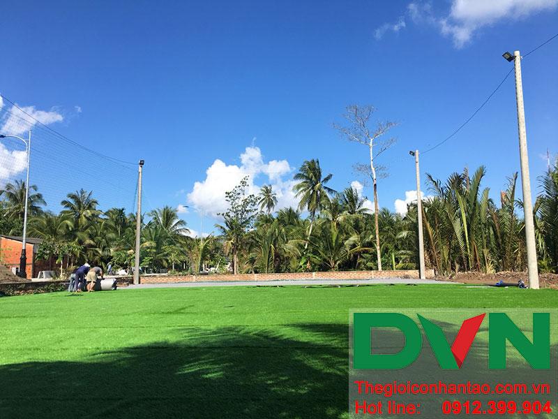 Một số hình ảnh dự án sân bóng tại Phước Mỹ Trung - Huyện Mỏ Cày Bắc - Bến Tre 14