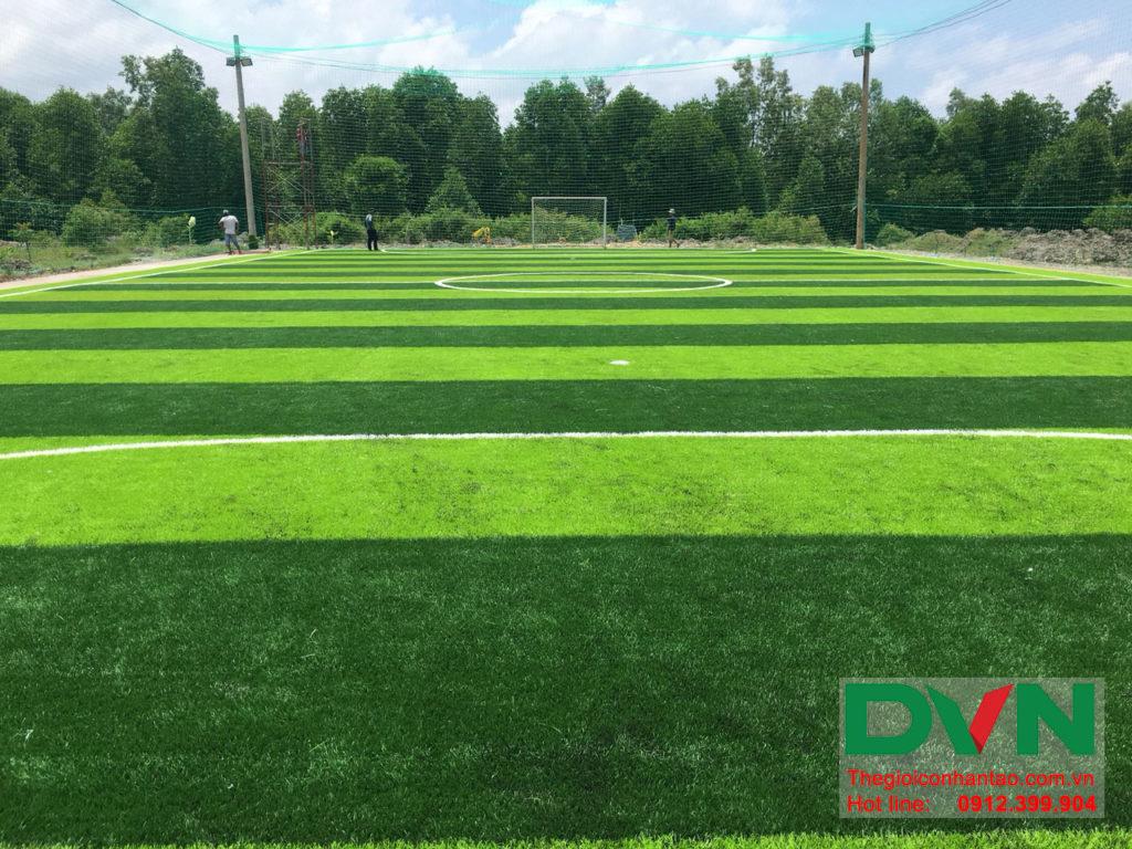 Một số hình ảnh của dự án sân bóng đá cỏ nhân tạo Ấp Kinh Đào, xã Đất Mũi, huyện Ngọc Hiển, tỉnh Cà M 15