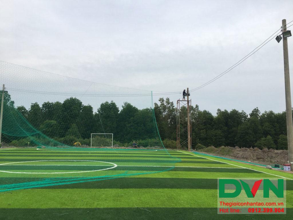 Một số hình ảnh của dự án sân bóng đá cỏ nhân tạo Ấp Kinh Đào, xã Đất Mũi, huyện Ngọc Hiển, tỉnh Cà M 13