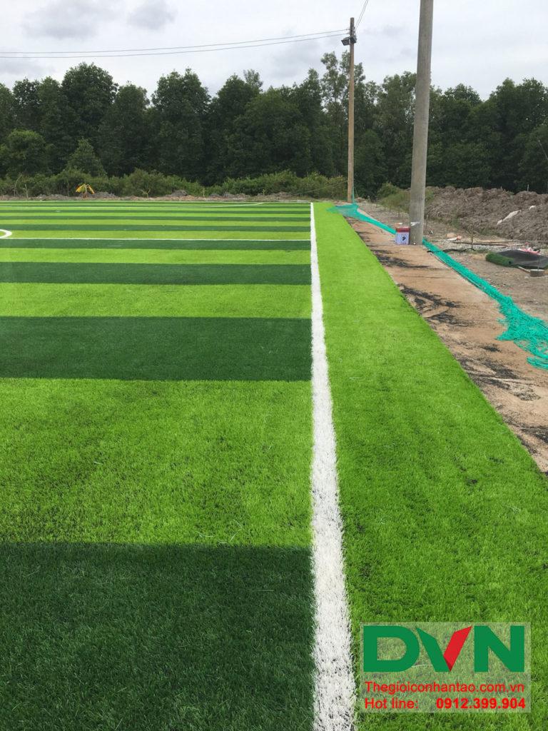 Một số hình ảnh của dự án sân bóng đá cỏ nhân tạo Ấp Kinh Đào, xã Đất Mũi, huyện Ngọc Hiển, tỉnh Cà M 12