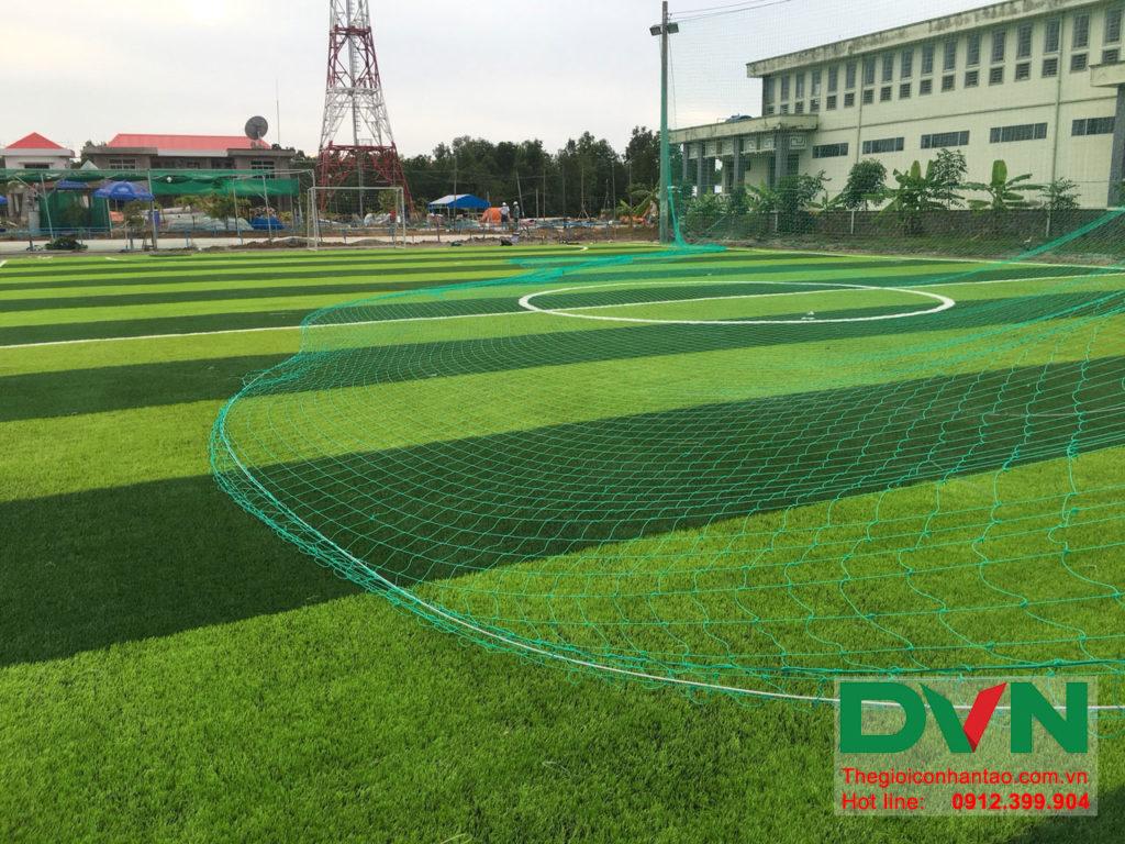 Một số hình ảnh của dự án sân bóng đá cỏ nhân tạo Ấp Kinh Đào, xã Đất Mũi, huyện Ngọc Hiển, tỉnh Cà M 14
