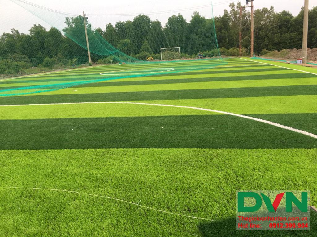 Một số hình ảnh của dự án sân bóng đá cỏ nhân tạo Ấp Kinh Đào, xã Đất Mũi, huyện Ngọc Hiển, tỉnh Cà M 11