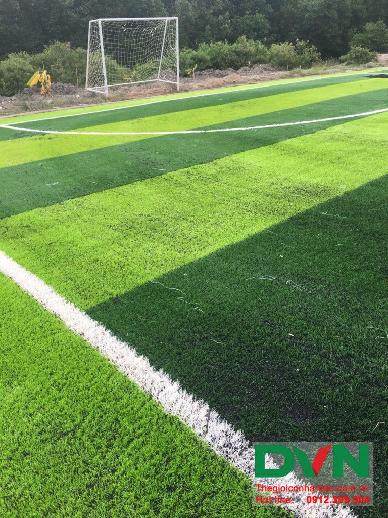 Một số hình ảnh của dự án sân bóng đá cỏ nhân tạo Ấp Kinh Đào, xã Đất Mũi, huyện Ngọc Hiển, tỉnh Cà M 8