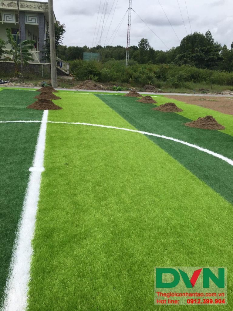Một số hình ảnh của dự án sân bóng đá cỏ nhân tạo Ấp Kinh Đào, xã Đất Mũi, huyện Ngọc Hiển, tỉnh Cà M 10