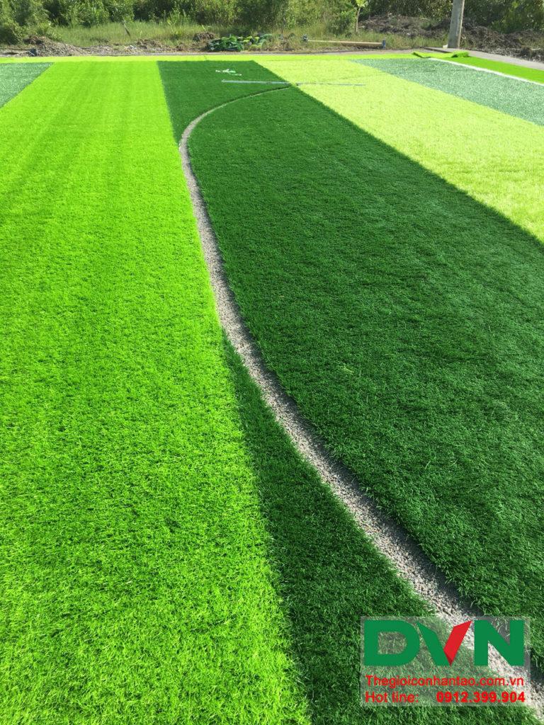 Một số hình ảnh của dự án sân bóng đá cỏ nhân tạo Ấp Kinh Đào, xã Đất Mũi, huyện Ngọc Hiển, tỉnh Cà M 6
