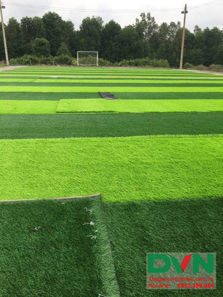 Một số hình ảnh của dự án sân bóng đá cỏ nhân tạo Ấp Kinh Đào, xã Đất Mũi, huyện Ngọc Hiển, tỉnh Cà M 4