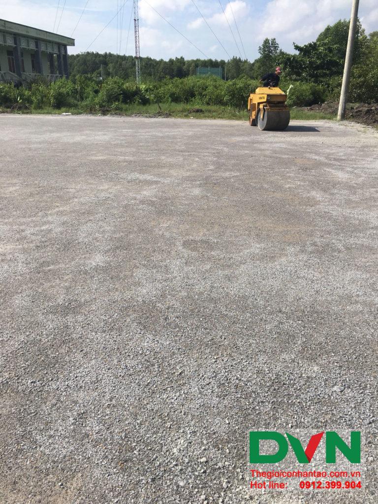 Một số hình ảnh của dự án sân bóng đá cỏ nhân tạo Ấp Kinh Đào, xã Đất Mũi, huyện Ngọc Hiển, tỉnh Cà M 1