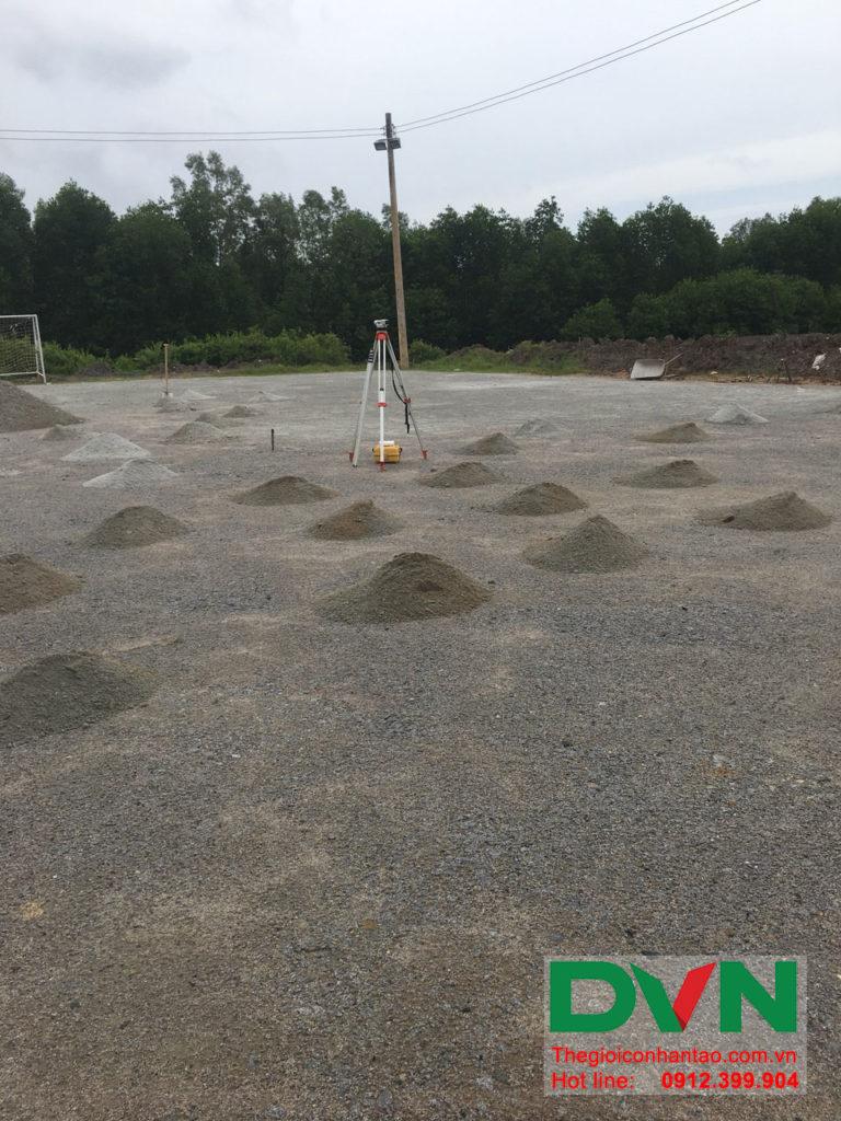 Một số hình ảnh của dự án sân bóng đá cỏ nhân tạo Ấp Kinh Đào, xã Đất Mũi, huyện Ngọc Hiển, tỉnh Cà M 3