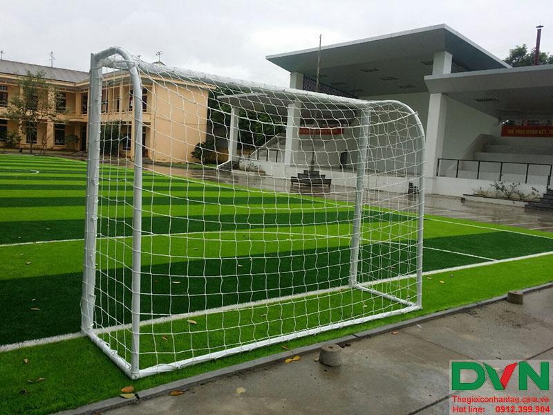 Một số hình ảnh của dự án sân bóng cỏ nhân tạo tại Lữ đoàn 21, Từ Liêm, Hà Nội 16