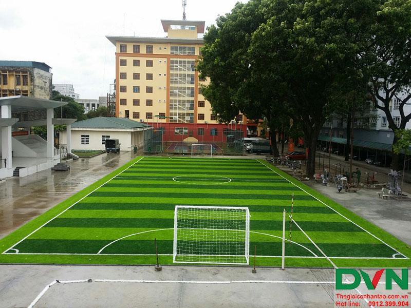 Một số hình ảnh của dự án sân bóng cỏ nhân tạo tại Lữ đoàn 21, Từ Liêm, Hà Nội 18