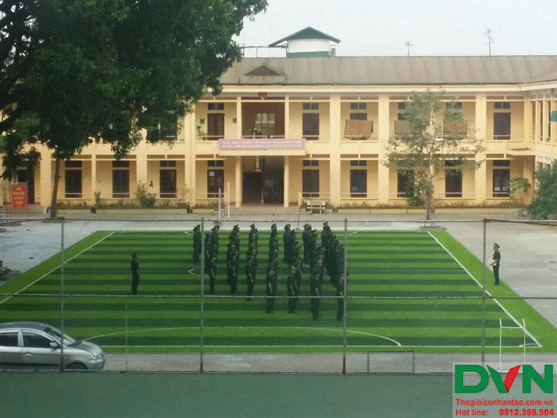 Một số hình ảnh của dự án sân bóng cỏ nhân tạo tại Lữ đoàn 21, Từ Liêm, Hà Nội 19