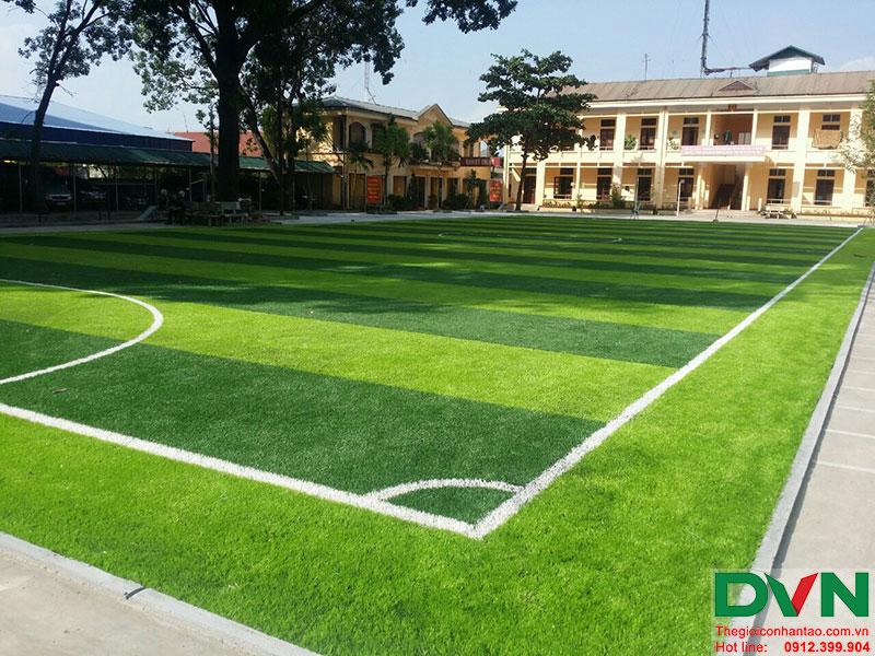 Một số hình ảnh của dự án sân bóng cỏ nhân tạo tại Lữ đoàn 21, Từ Liêm, Hà Nội 20