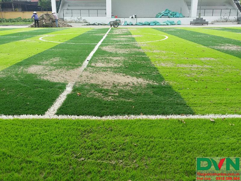 Một số hình ảnh của dự án sân bóng cỏ nhân tạo tại Lữ đoàn 21, Từ Liêm, Hà Nội 13