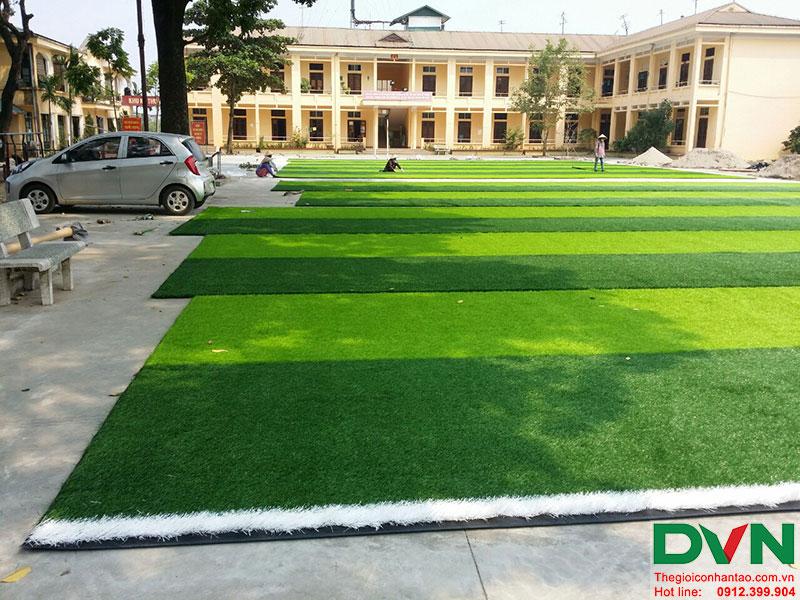 Một số hình ảnh của dự án sân bóng cỏ nhân tạo tại Lữ đoàn 21, Từ Liêm, Hà Nội 11