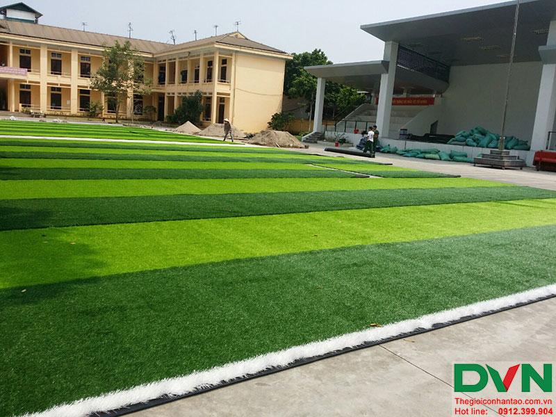 Một số hình ảnh của dự án sân bóng cỏ nhân tạo tại Lữ đoàn 21, Từ Liêm, Hà Nội 10