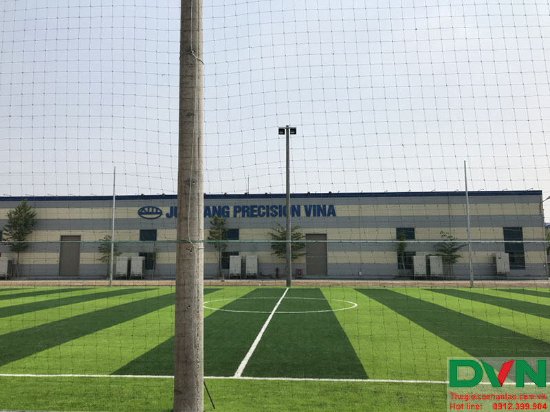 Một số hình ảnh của dự án sân bóng cỏ nhân tạo tạiCông Ty TNHH PRIME CONSTRUCTION, Thái Nguyên 9
