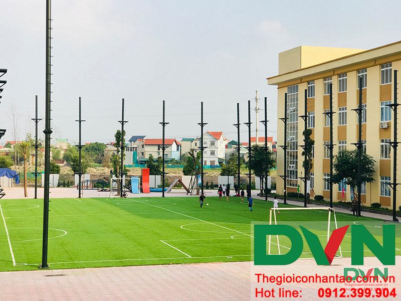 Cỏ nhân tạo sân vườn – Mở ra không gian trường học hiện đại! 1